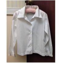 Camisa Branca Expresso Kids Tam 6 - 6 anos - Expresso Kids