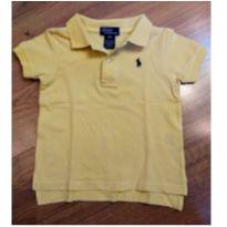 Camisa Ralph Lauren Tam 18 meses Amarela - 18 meses - Ralph Lauren