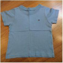 Camiseta Azul Tommy Hilfiger - Tam 18 meses - 18 meses - Tommy Hilfiger
