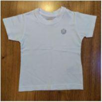Camiseta Branca Tigor Tam 2 - 2 anos - Tigor Baby