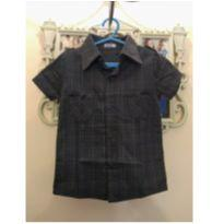 Camisa Nosh Cinza - Tam 4 (forma pequena, veste 2 a 3 anos) - 24 a 36 meses - Nosh