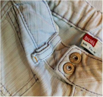 Calça Jeans Diesel TAM 2 - 2 anos - diesel