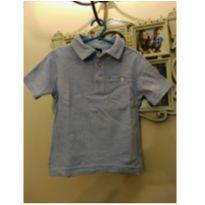 Camisa Baby Gap Azul 18 a 24 meses - 18 a 24 meses - Baby Gap