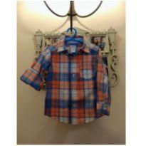 Camisa Xadrez Laranja Carter`s TAM 2 - 2 anos - Carter`s