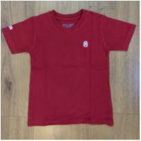 Camiseta Vermelha Tigor Tam 3 - 3 anos - Tigor Baby