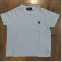 Camiseta Branca Ralph Lauren Tam 2 - 2 anos - Ralph Lauren