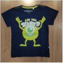 Camiseta Monstros SA - 2 a 3 anos - 24 a 36 meses - MONSTROS s.a