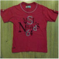 Camiseta Marisol Vermelha Tam 3 - 3 anos - Marisol
