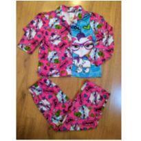 Pijama Fleece Gatinha (Tam 4/5) - 5 anos - Carter`s