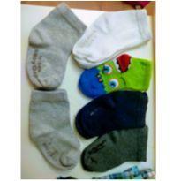 Kit 6 meias Baby Gap e Puket - 2 anos - Baby Gap