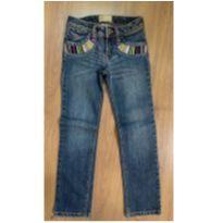 Calça Jeans Bordada Gap Kids - Tam 5 - 5 anos - Baby Gap
