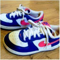 Tênis Nike Couro - Tam 26 - 26 - Nike