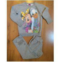 Conjunto de Moletom Disney Minnie - Tam 4 - 4 anos - Disney