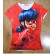 Camiseta Lady Bug Tam 6 - 6 anos - Não informada