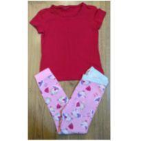 Pijama Baby Gap - Bailarinha - 4 anos - 4 anos - Baby Gap