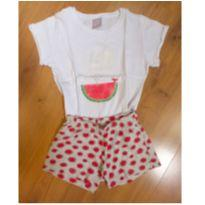 Pijama Melancia Hering - Brilha no escuro - Tam 4 - 4 anos - Hering Kids