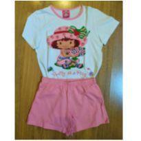 Pijama Moranguinho Recco - Tam 4 - 4 anos - Recco