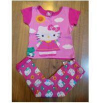 Pijama Hello Kitty Rosa - Tam 4 - 4 anos - Hello Kitty by Sanrio