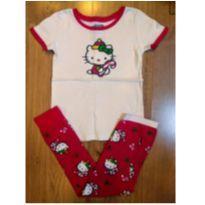 Pijama Vermelho Hello Kitty - Old Navy - Tam 4 - 4 anos - Old Navy