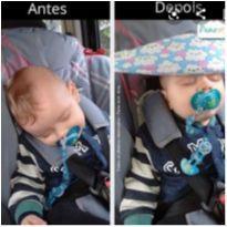 Faixa de segurar a cabeça do bebê NOVO - Pano com Arte -  - Não informada