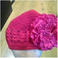 Touca Flor Vermelha -  - Não informada