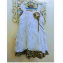Vestido Anjos D`água- Tam 6 - 6 anos - anjos d` água
