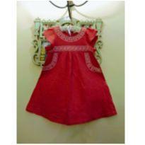 Vestido Bordado Le Lis Petit - Tam 4 - 4 anos - Le Lis Petit