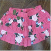 Saia pink estampa floral Carter's - 3 meses - Carter`s