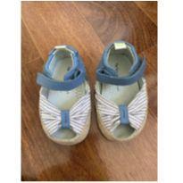 Sapato fofíssimo listrado peep toe - 18 - Tip Toey Joey