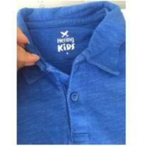Polo Hering azul - 6 anos - Hering Kids