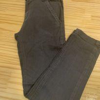 Calça estilosa cinza - 8 anos - V10 Jeans