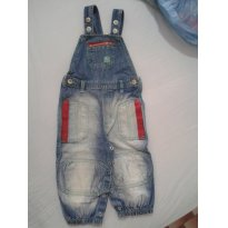 Macacão Jeans - 1 ano - PUC