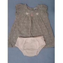 Vestido oncinha! - 3 a 6 meses - Tip Top