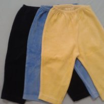calças em veludo - 0 a 3 meses - Bicho Molhado