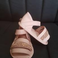 Sandália bebê rosa - 13 - Pampili