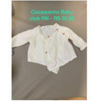 Casaquinho Baby Club RN - Recém Nascido - Baby Club