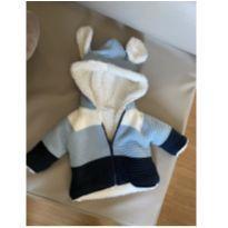 Casaco tricot orelhas sherpa - Nunca usado - Baby Way - 3 a 6 meses - Baby Way