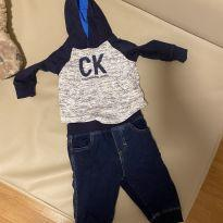 Conjunto Calvin Klein - 3 a 6 meses - Calvin Klein