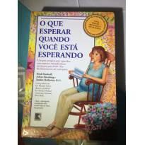 """Livro """" O que esperar quando você está esperando"""" -  - Editora Record"""