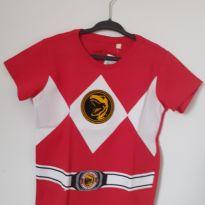 Camiseta Power Rangers - 3 anos - C&A