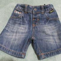 Bermuda jeans Tigor - 18 meses - Tigor Baby