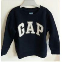 Moleton Gap azul marinho tam: 2 - 2 anos - Baby Gap