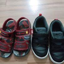 Tênis e sapato
