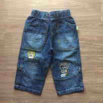 Calça jeans Artcler - 9 a 12 meses - art Kids