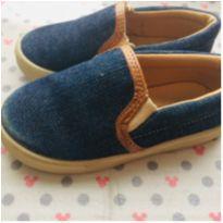 Sapatênis jeans - 22 - Baby Club