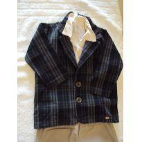 Conjuntinho social  calça, camisa e blazer - 2 anos - Tilly Baby