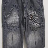 Calça jeans preta tam. 2 - 18 a 24 meses - Bizuzinho