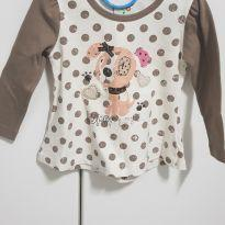 Blusa cachorrinho de pano tam. P - 0 a 3 meses - Have Fun