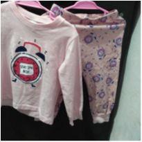 Pijama comprido - 1 ano - Marca não registrada