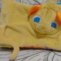 Livro pelúcia gatinho amarelo - Sem faixa etaria - Todo Livro